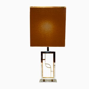 Table Lamp in Brass and Steel, 1960s