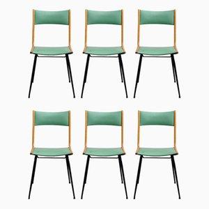 Mid-Century Italian Dining Chairs, Set of 6