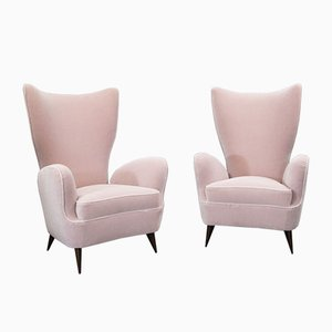 Lounge Chairs by Emilio Sala & Giorgio Madini, 1950s, Set of 2