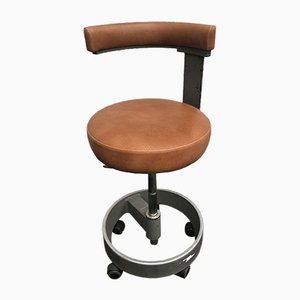 Adjustable Swivel Chair on Wheels from Siemens, 1960s