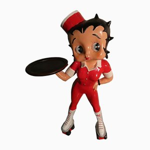 Pattinatrice in resina Betty Boop, anni '80