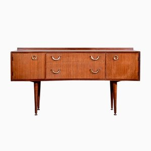 Mid-Century Teak and Brass Sideboard from Meredew, 1960s