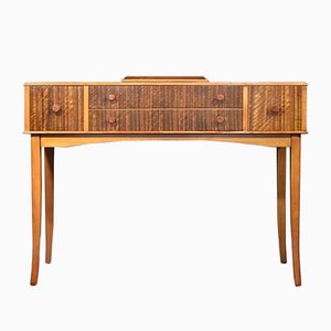 Mid-Century Walnut and Birch Console Table from Heal's, 1960s