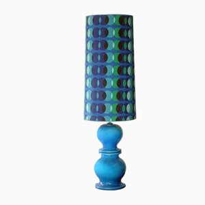 Pop Lampshade Table Lamp, 1960s