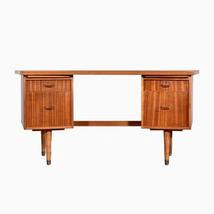 Mid-Century Walnut Desk Secretaire from Morris of Glasgow, 1960s
