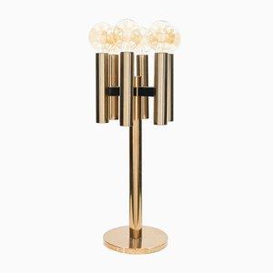 Dänische Kupfer Tischlampe von Jo Hammerborg für Fog & Mørup, 1960er