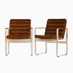 Mondo Armchairs by Karl-Erik Ekselius for JOC Vetlanda, 1980s, Set of 2