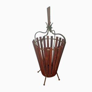 Teak Umbrella Stand, 1960s
