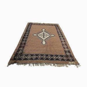 Antiker Teppich aus Wolle & Ziegenhaar