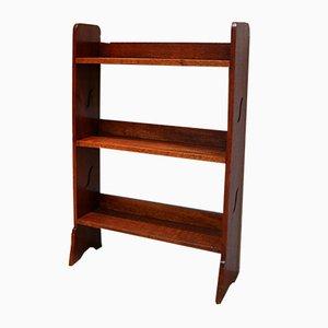 Antique Oak Open Bookshelves