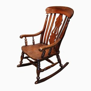 Antique Farmhouse Rocking Chair