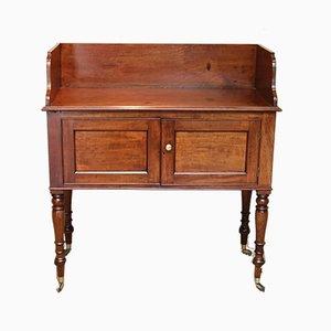 Late Victorian Mahogany Wash Stand