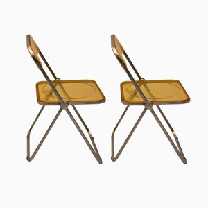 Plia Folding Chair by Giancarlo Piretti for Castelli, 1969