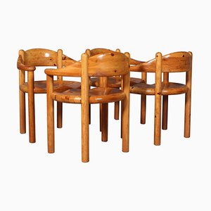Dining Chairs by Rainer Daumiller for Hirtshals Savvaerk, 1970s, Set of 4