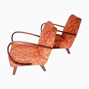Armchairs by Jindrich Halabala, 1940s, Set of 2