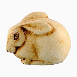 Rabbit in Glazed Ceramic by Lisa Larson for Gustavsberg