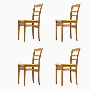 Dining Chairs by Carl Malmsten for O. H. Sjögren, 1950s, Set of 4