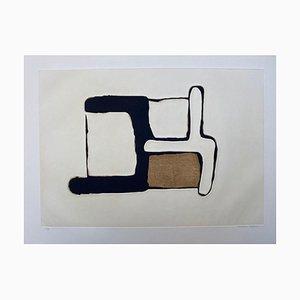 Composition 4 de Conrad Marca-Relli, 1977