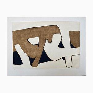 Composition 5 by Conrad Marca-Relli, 1977