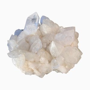 White Quartz Crystal Druze by Demian Quincke