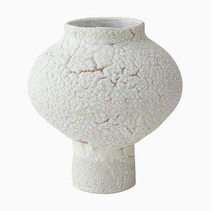 Glasierte Steingut Vase von Raquel Vidal und Pedro Paz