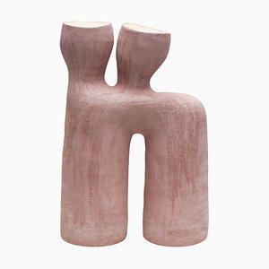 Lampada da tavolo Opéra in gres rosa di Elisa Uberti