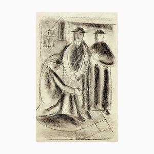 Pretini - Original Drawing - 20th Century 20th Century