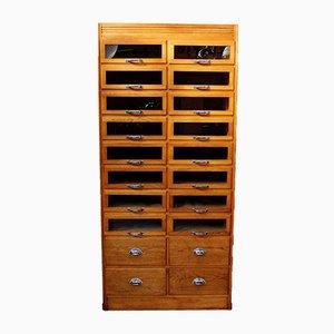 Vintage Haberdashery Shop Display Cabinet, 1950s