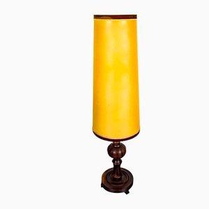 Vintage Stehlampe aus Holz, 1960er
