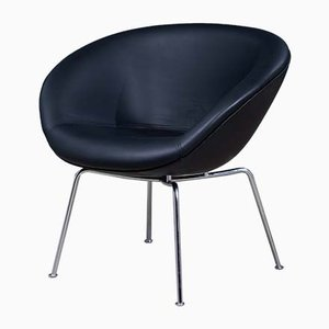 Mid-Century Model 3318 Lounge Chair by Arne Jacobsen for Fritz Hansen, 1960s