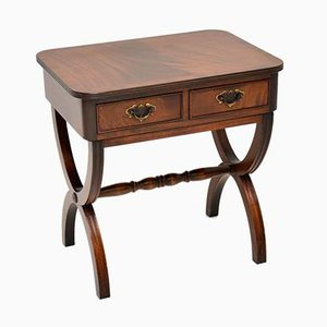 Regency Style Mahogany Side Table, 1950s