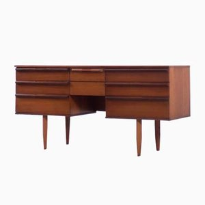 Mid-Century Danish Teak Desk from Avalon, 1960s