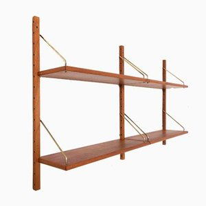 Danish Teak Shelves in the Style of Poul Cadovius, 1960s