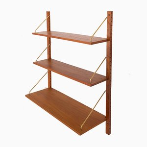 Danish Teak Shelves in the Style of Poul Cadovius for Cado, 1960s, Set of 3