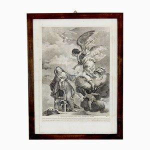 Antique Religious Print, France