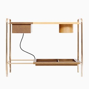 Beatrice Console Table W/ Charging Box by Marqqa