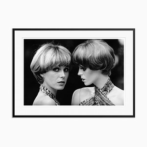 Twice as Lumley Archival Pigment Print Framed in Black by Doreen Spooner