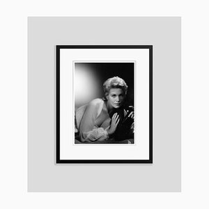 Kim Novak Archival Pigment Print Framed in Black by Baron