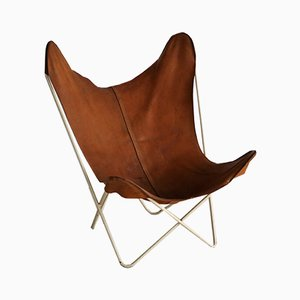 Vintage Butterfly Lounge Chair by Jorge Ferrari-Hardoy for Knoll Inc. / Knoll International, 1950s