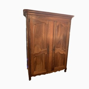 Antique Louis XV Cherry Wardrobe