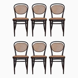 No. 215 R Dining Chairs by Michael Thonet for Thonet, 1977, Set of 6