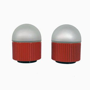 Bulbo Table Lamps by Raul Barbieri & Giorgio Marianelli for Tronconi, 1980s, Set of 2