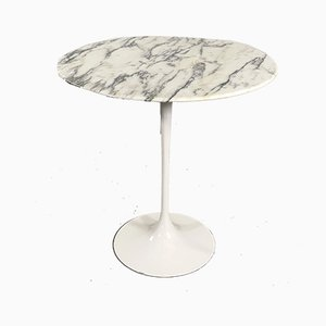 Marble Tulip Side Table by Eero Saarinen for Knoll Inc. / Knoll International, 1960s