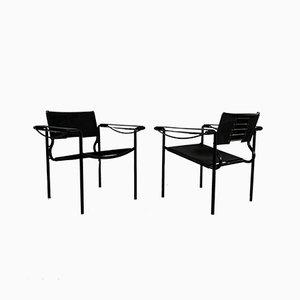 Leather Armchair by Giandomenico Belotti for Alias, 1980s