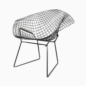 Chromed Diamond Side Chair by Harry Bertoia for Knoll Inc. / Knoll International, 1970s