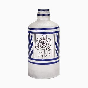Ceramic Bottle from Michel Barbier, 1960s