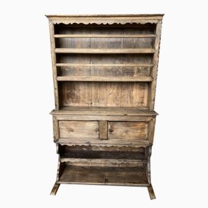 Early-19th Century French Oak Farmhouse Kitchen Dresser