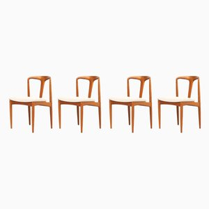 Juliane Dining Chairs by Johannes Andersen for Uldum Møbelfabrik, 1960s, Set of 4