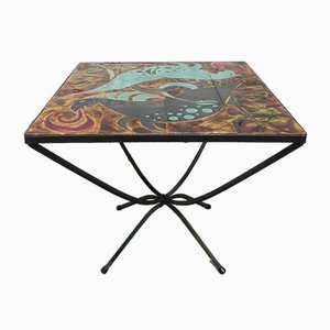 Vintage Tile Coffee Table, 1960s