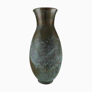 Vaso colossale in ceramica smaltata di Richard Uhlemeyer, Germania, anni '40